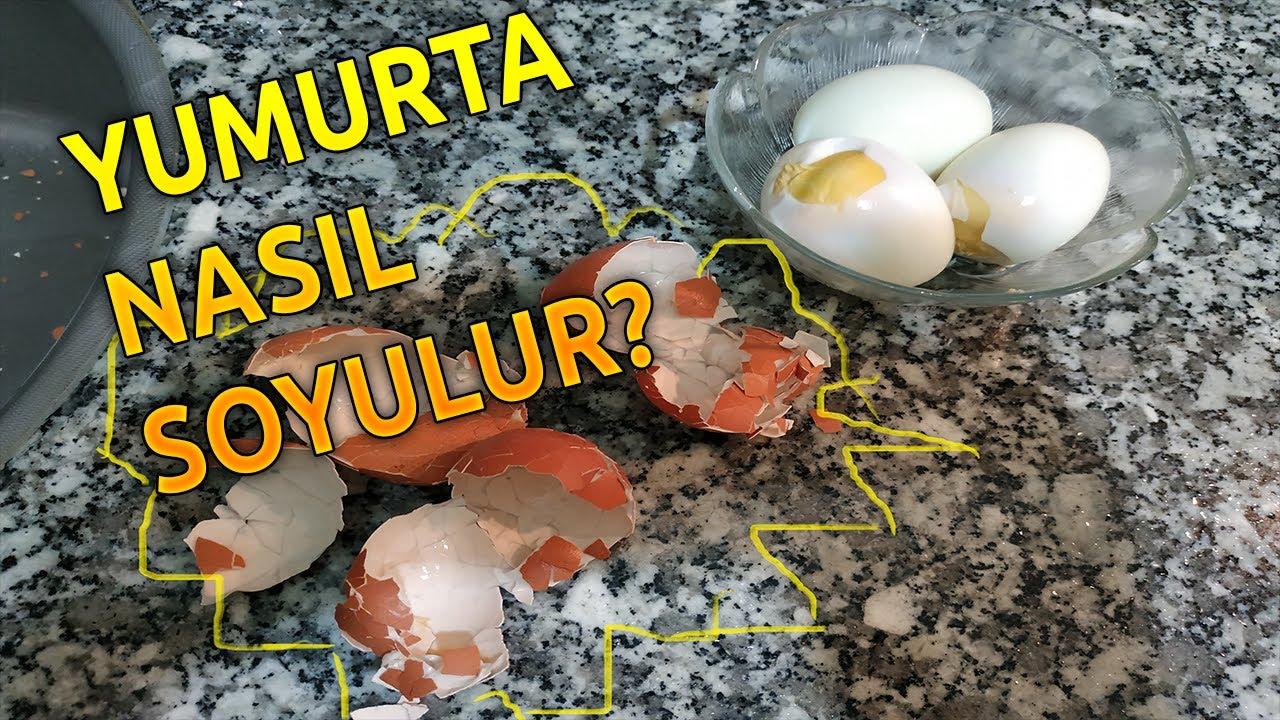 Yumurta Kolay Nasıl Soyulur?
