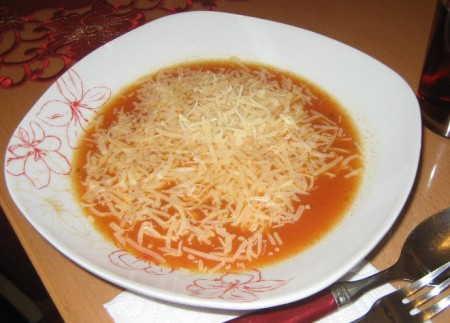 Kaşar Peynirli Soğan Çorbası
